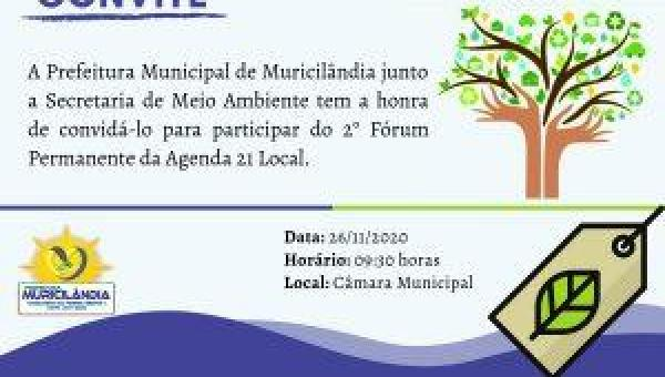 2º FÓRUM PERMANENTE DA AGENDA 21 LOCAL.