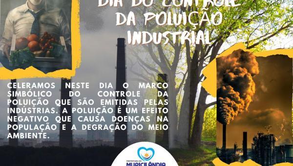 COMEMORAÇÃO DIA DO CONTROLE DA POLUIÇÃO INDUSTRIAL
